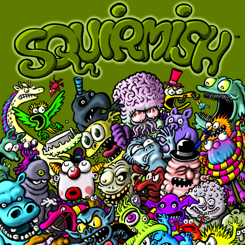 Squirmish: The Card Game of Brawling Beasties